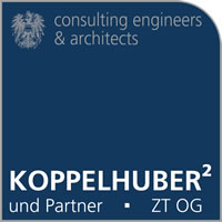 Koppelhuber² und Partner – consulting engineers & architects.